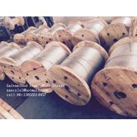 Cold Drawn ASTM A475 Galvanised Steel Wire For Communication Cable Manufactures