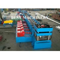 Highway Guardrail Roll Forming Machine Hydrualic Punching Cutting Manufactures