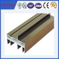 Hot! Quality hollow section aluminum sliding window/ aluminum window frame profiles Manufactures