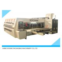 Lead Edge Feeder Print And Die Cut Machine Automatically For Making Carton Box Manufactures