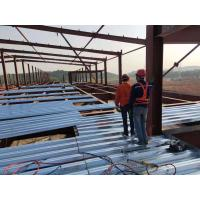 China Metal Sheet Prefabricated Steel Structures Building For Food Storage on sale