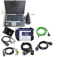 MB Star C4 with software ssd and Laptop D630 MB C4 SD Connect Wireless Diagnose Scanner Professional Auto Diagnosis tool Manufactures