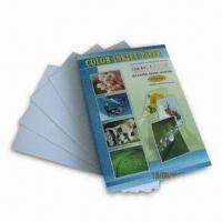 China Inkjet Paper with Water-resistant Feature, 99% Whiteness on sale