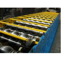 China Roof Tile Roll Forming Machine, Steel Tile Forming Machine For Architecture Roofing on sale