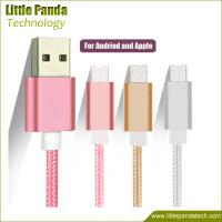 High Quality Fast Charging Micro USB Cable Double Sided USB Data Cable 8pin+v8 for Android Manufactures
