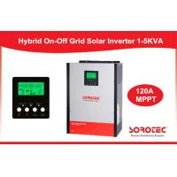 Pure Sine Wave On / Off Grid Solar Power Inverters 1KW - 5KW with LCD Display Manufactures