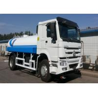 6 Wheel 266HP Water Bowser Truck, 4x2 HW76 Cab HOWO Water Transport Truck Manufactures