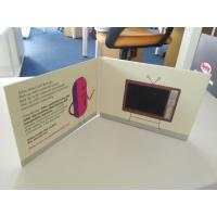 China Advertising Player LCD Video Brochure , 4.3 Inch - 10 Inch  Video Mailer on sale