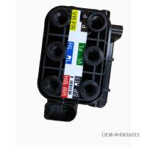 Front Air Compressor Valve Block For Audi A6 C7 A8D4 Air Spring Air Suspension Valve 4H0616005C Manufactures