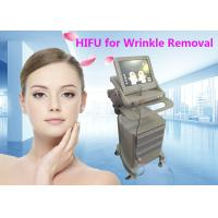 China Multifunction Hifu Face Lifting / Wrinkle Removal Machine for Skin Beauty on sale
