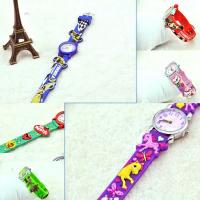 Wholesale Custom Fun 3d Cartoon Character Watches for Kids Manufactures