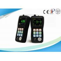 Portable Digital Ultrasonic Thickness Gauge , NDT Through Coating Thickness Gauge Manufactures