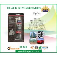 Black RTV GE Silicone Sealant High Temperature , Non Toxic and High Modulus for sale