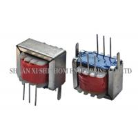 China Portable Audio Frequency Transformer , Ei Type Transformer With Frame / Lead Wire on sale