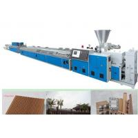 China WPC Window Plastic Profile Extrusion Line , WPC Plastic Profile Production Line on sale