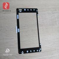 custom chemically strengthened glass cover lens 1mm thickness for touch panel for sale