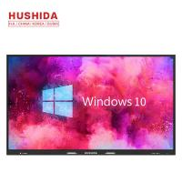 China Indoor Touch Screen Interactive Whiteboard 75 Inch Infrared For Remote Meeting on sale