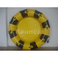 Round Inflatable Towable Banana Boat / Inflatable Towable Boat Used In Lake Or Sea Manufactures