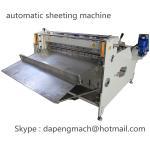 Aluminum Foil roll to sheet cutting machine copper foil sheeting machine max width 800mm Manufactures