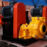 Buy cheap high chrome/rubber lined horizontal slurry pump, heavy duty slurry pump from wholesalers