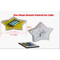 Quality Color Changing Battery Operated El Products Star Led Lights Remote Control for sale