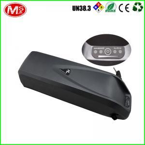 Black Li-Ion 36v 10ah Electric Bike Battery For Big Cat Bikes TLH-EV032 Manufactures