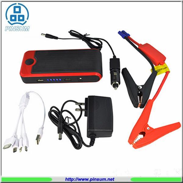 Quality 12V Jump Starter 12000MAH Jump & Go Portable Jumpstart Red Car Auto Jump Starter for sale