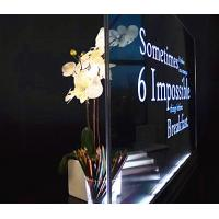 Transparent All In One Digital Signage Display 55 Inch Custom Accepted Manufactures