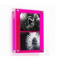 transparent acrylic sheet Material and Photo Frame Type wall-mounted clear acrylic photo Manufactures