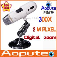 China 2014 new white 300X Microscope Portable handheld digital microscope microscope video microscope on sale