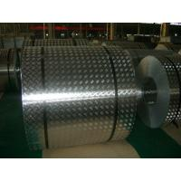 4 mm Roll Aluminum Checkered Plate , Steel Diamond Plate Sheets For Bus Manufactures