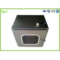 High Safety SS Pass Box Made From Corrosion Resistant Cold Rolled Steel Material Manufactures