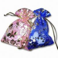 Promotional Organza Bag, Suitable for Gifts Manufactures