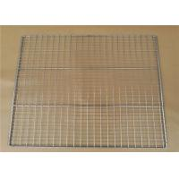 Welded Type Wire Basket Cable Tray For Put Something , 10-15mm Hole Size Manufactures