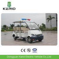 Buy cheap Public Security Electric Police Patrol Car , Electric Sightseeing Vehicle Energy Saving from wholesalers