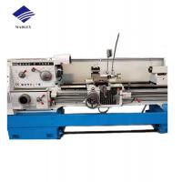Small Metal Manual Lathe Machine 7.5kw Spindle Motor Horizontal Type High Accuracy Manufactures