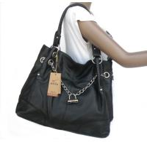 China Wholesale Price 100% Genuine Leather Fashion Design Handbag Shoulder Bag #3024A on sale