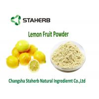 Organic Dehydrated Fruit Powder , Natural Lemon PowderWithout Any Additive Manufactures