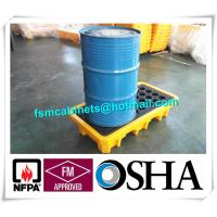 Steel Spill Decks Containment Pallets 2 Drums / 4 Drums Removable With Drain Manufactures