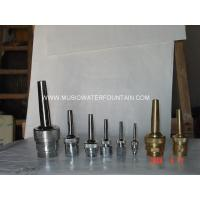 Silver Color Brass Material Music Brass Fountain Nozzles Direct Projecting Jets Manufactures