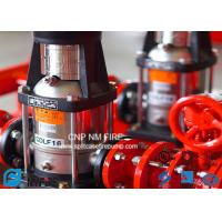 NFPA20 GB6245 Fire Water Jockey Pump  25GPM Fire Fighting System For Building Manufactures