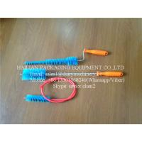 Milking Machine Spares Cleaning Brush For Cow Farm Use With Orange Color Manufactures