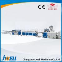 China Jwell Common Diameter HDPE Pipe/PP Chemical Usage Pipe Plastic Extrusion Companies on sale