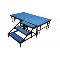 Steel Portable Stage Platform Movable 1220mm X 2440mm For Shop / School Event Manufactures