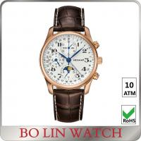 Fashion Stainless Steel Sports Watch , unisex luxury chronograph watches Manufactures