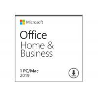 Microsoft Office Home And Business 2019 Activation Card 1 Person Compatible Apple Mac OS Manufactures