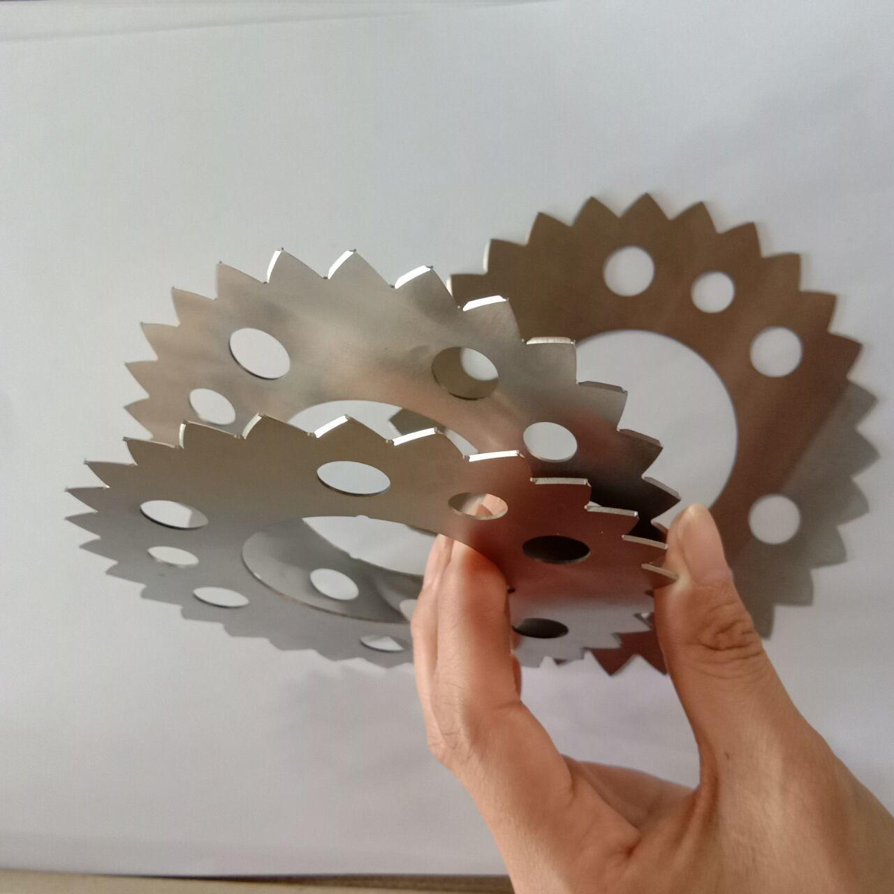 Rolling Cutter Carbide Circular Blade For Air Conditioner Radiator Machine Manufactures