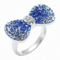 Bow Tie Crystal Ring Manufactures