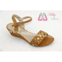 China Customized Women Shoes new design hot fashion women wedge sandals shoes(ML0516_501) on sale