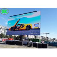 China P6 Outdoor Advertising LED Digital Billboard Mobile Screen 60Hz Frame Rate on sale